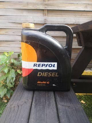 Aceite 15w40 motor diésel