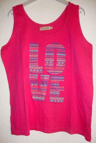 Camiseta Fucsia L