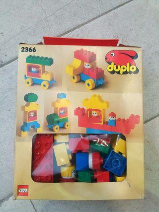 Antiguo Caja Lego Duplo 1987