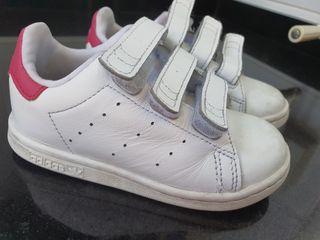 Deportivas blancas Adidas Stan Smith talla 25