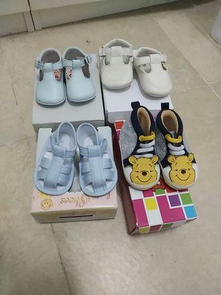 zapatos de bebe número 16