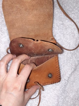 bolso de cuero
