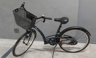 Bicicleta urbana btwin Elops 3 city bike