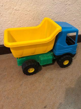 Camión y carretilla