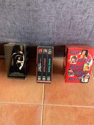 Colecciones antiguas VHS