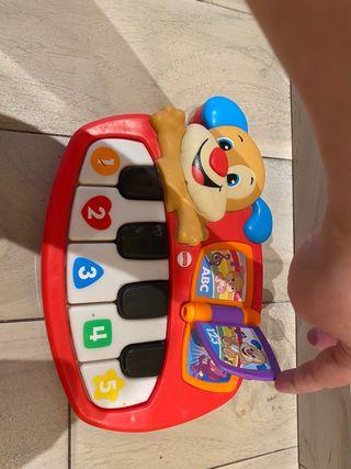 Piano teclado musical bebé Fisher Price