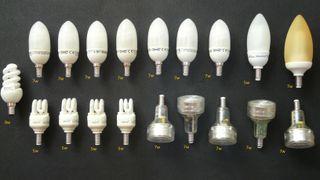 33 Bombillas Bajo Consumo diferentes Potencias