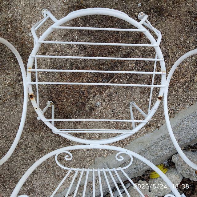 Mesa de Jardín con 2 sillas