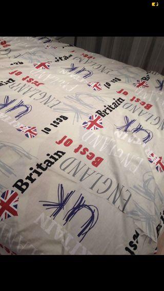 Funda nórdica UK + Funda almohada. 1,35 -1,40 cms