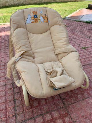 Hamaca bebé regulable en altura