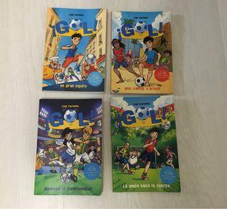 """Libros serie """"Gol"""". De Luigi Garlando"""