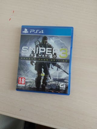 sniper ghost warriors 3 ps4