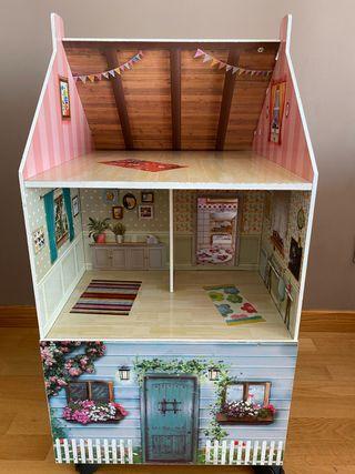 Casa muñecas madera Imaginarium