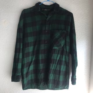 Camisa Zara cuadros oversize