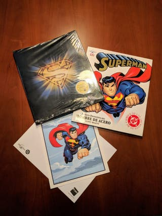 Libro SUPERMAN Guía Definitiva