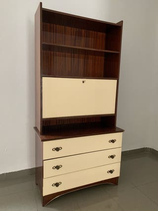 Mueble estantería/cajonera antiguo