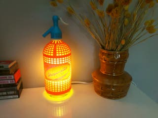 lampara sifon vintage Chaparrita luz ambiente cali