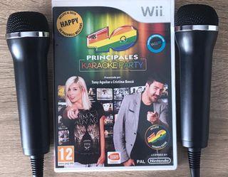 Juego para la Wii, 40 Principales Karaoke Party