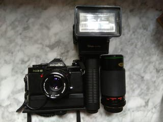 Cámara de fotos Minolta XG9