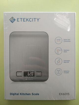 Báscula digital de cocina Etekcity