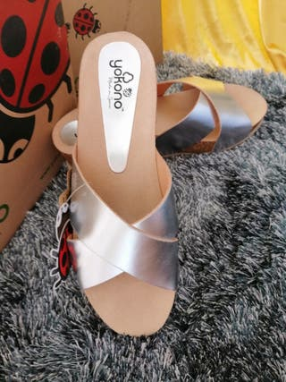 Yokono sandalias d mujer sin estrenar!