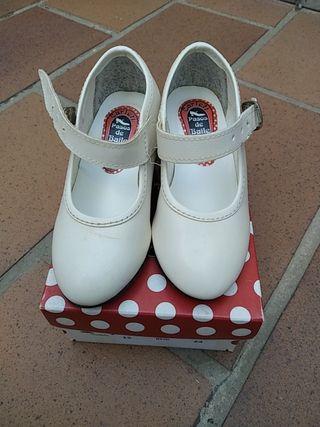 zapatos de flamenca número 24