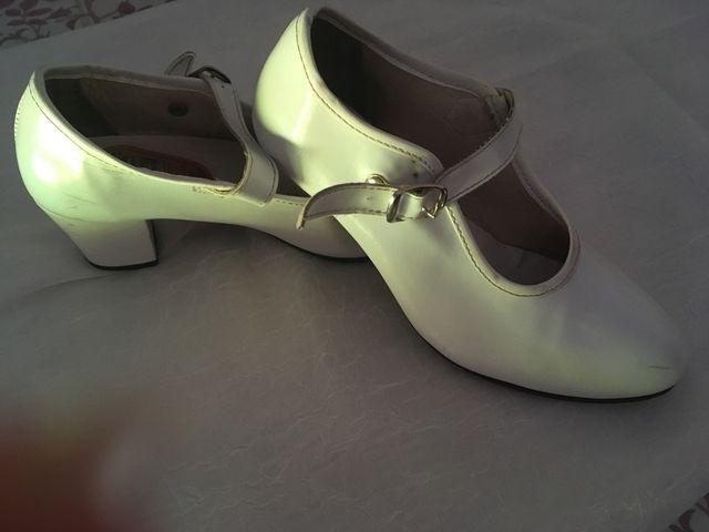 Zapatos de gitana niña talla 33