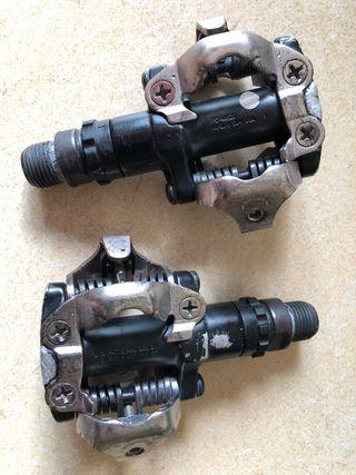 Pedales automáticos BTT Shimano