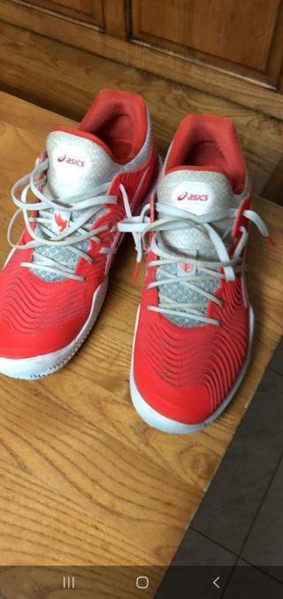 zapatillas padel asics court