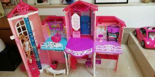Casa Barbie mansión+muñeca