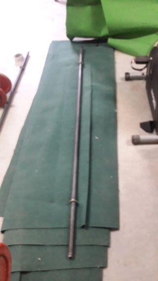 barra 2m para pesas 28mm 30mm