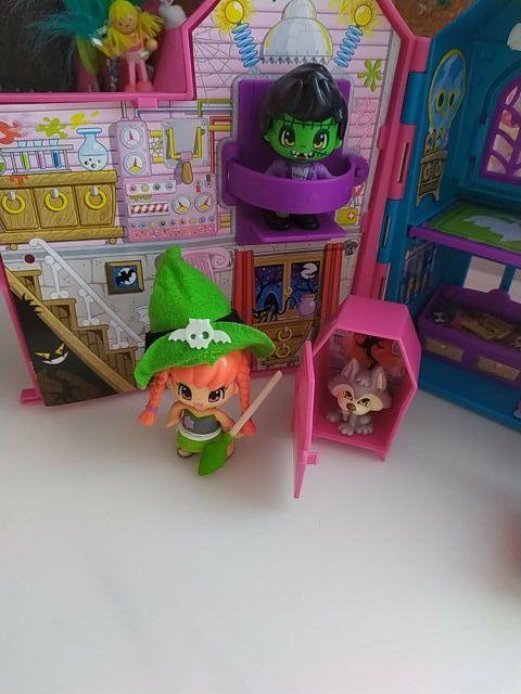 casita pin y pon Halloween