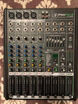 Mesa de mezclas Mackie PRO Fx8 v2