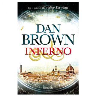 Libro de Inferno de Dan Brown tapa blanda