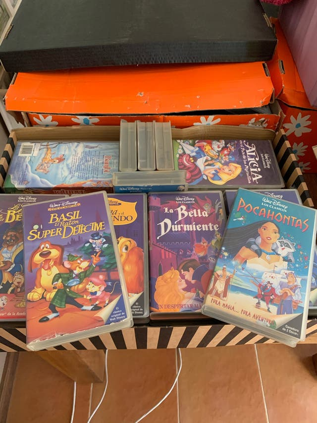 Peliculas Disney VHS
