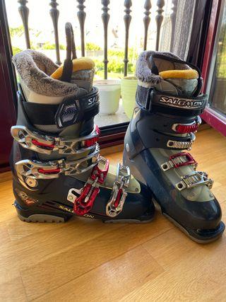Botas de esqui Salomón.