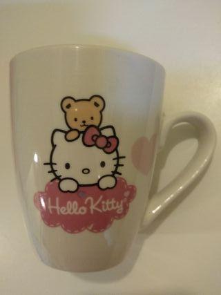 Taza mug Hello Kitty de porcelana