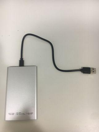 Cargador portátil / batería externa