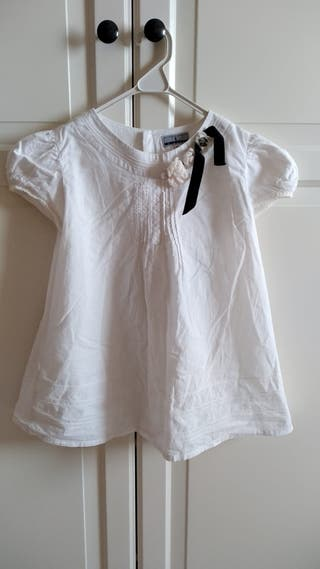 Camisa manga corta niña talla 10