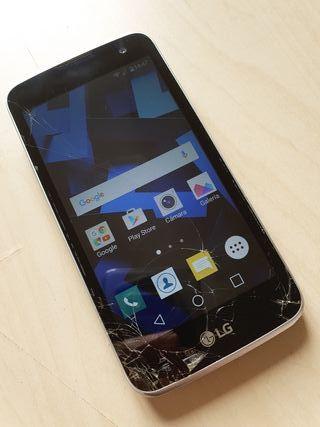 Móvil libre LG K4 - Funciona OK, pantalla rota