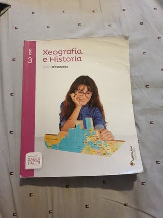 Libro de Xeografía e historia 3° Eso