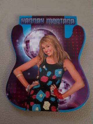 Libreta Hannah Montana