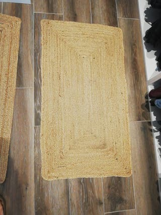 Alfombras de fibras naturales yute