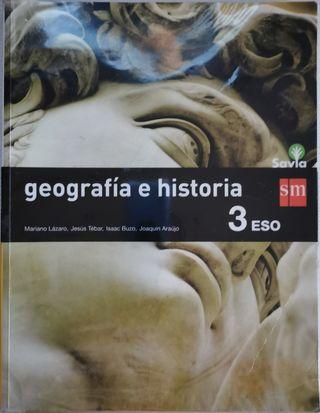 LIBRO GEOGRAFÍA E HISTORIA 3 ESO SM