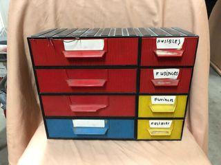 Organizador de piezas