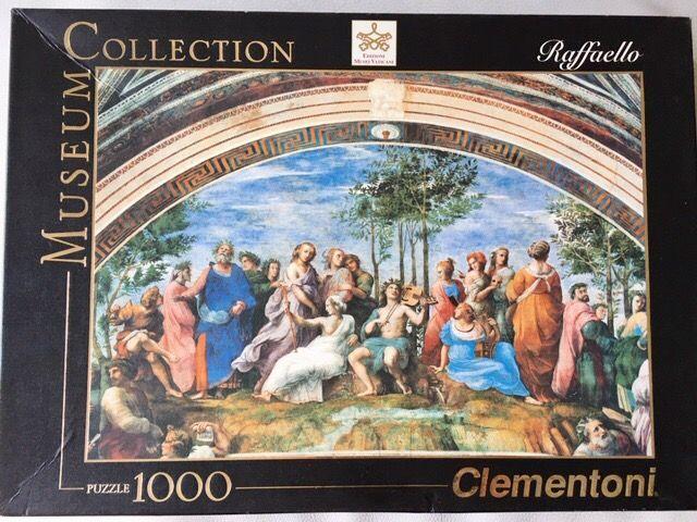 Puzzle 1000 piezas. El Parnaso de Rafael.