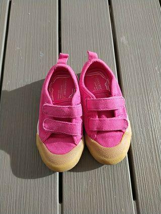 Zapatillas rosas Zara talla 22