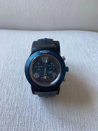 Swatch Irony Diaphane Unisex Azul y negro