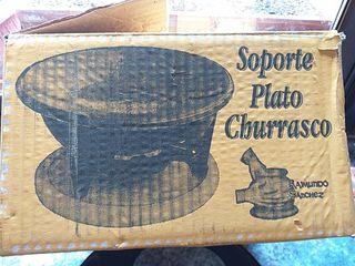 SOPORTE PLATO CHURRASCO