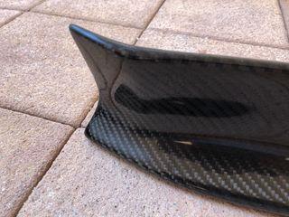 Taloneras carbono paragolpe trasero BMW 1M